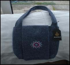 short handled  handbag