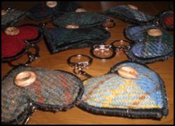Harris Tweed Key Rings